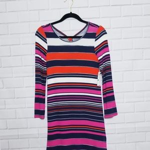 Jessica Simpson long striped tunic, or short dress